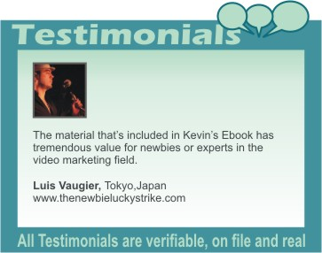 Luis Vaugier testimonial